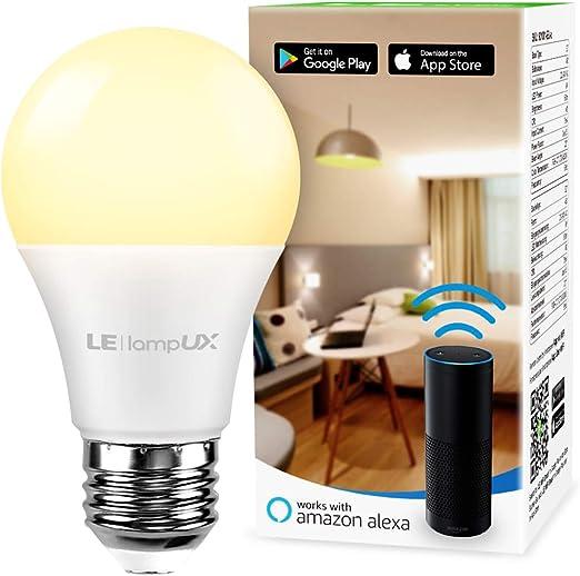 2 bombillas LED Alexa Inteligente WiFi E27 Regulable Bombilla ANTELA Smart 9W 806ML 80W Equivalente RGB /& 2700K-6500K Blanco fr/ío C/álido Compatible con Alexa//Google Home 2021Edition
