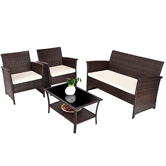 Amazon.com: 9rit_shop Addition Outdoor Living Space - Juego ...