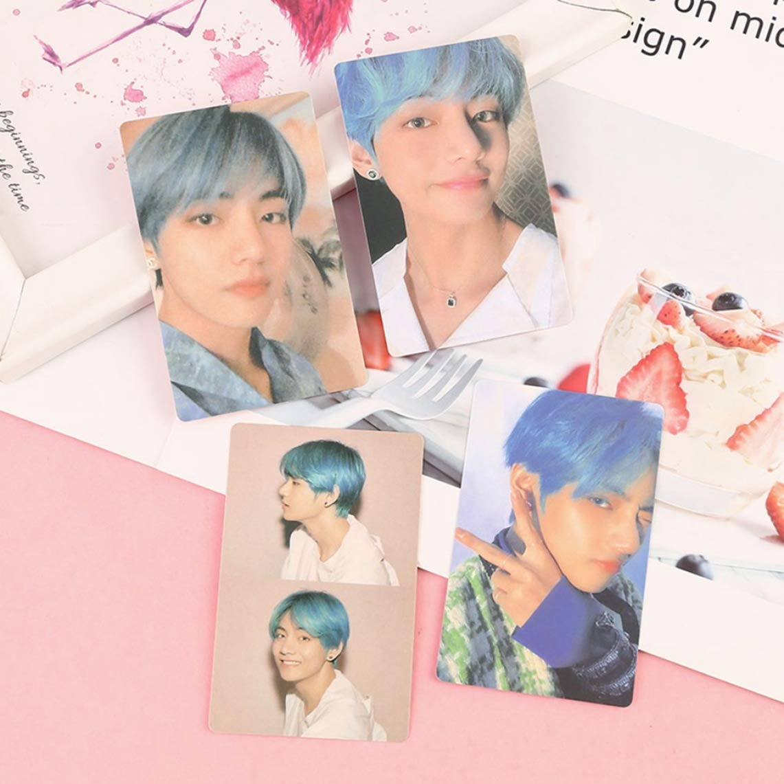 H07: V Diriangzi Caratteristica 4pcs //Set KPOP BTS Bangtan Boys Map of The Soul Persona Paper Photo Lomo Cards Jimin V Photocard Gift for A.R.M.Y