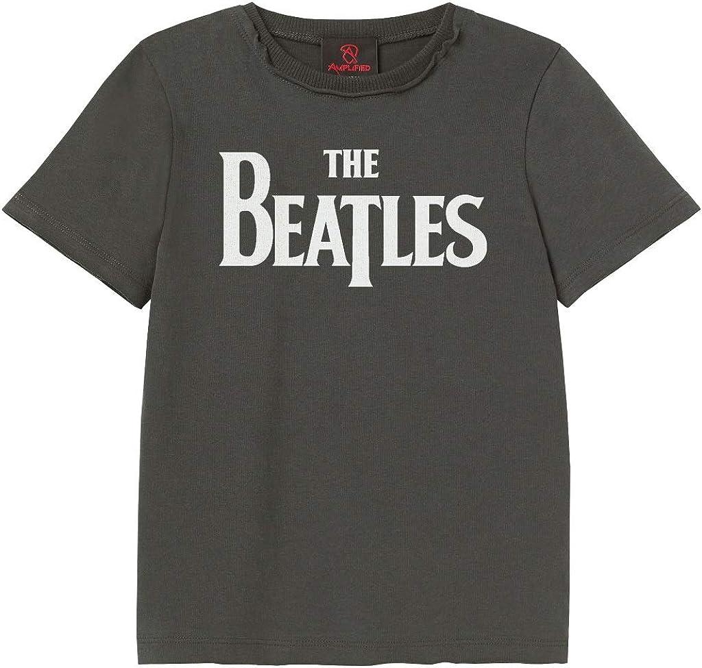 Amplified Clothing The Beatles Logo Camiseta de los ni/ños