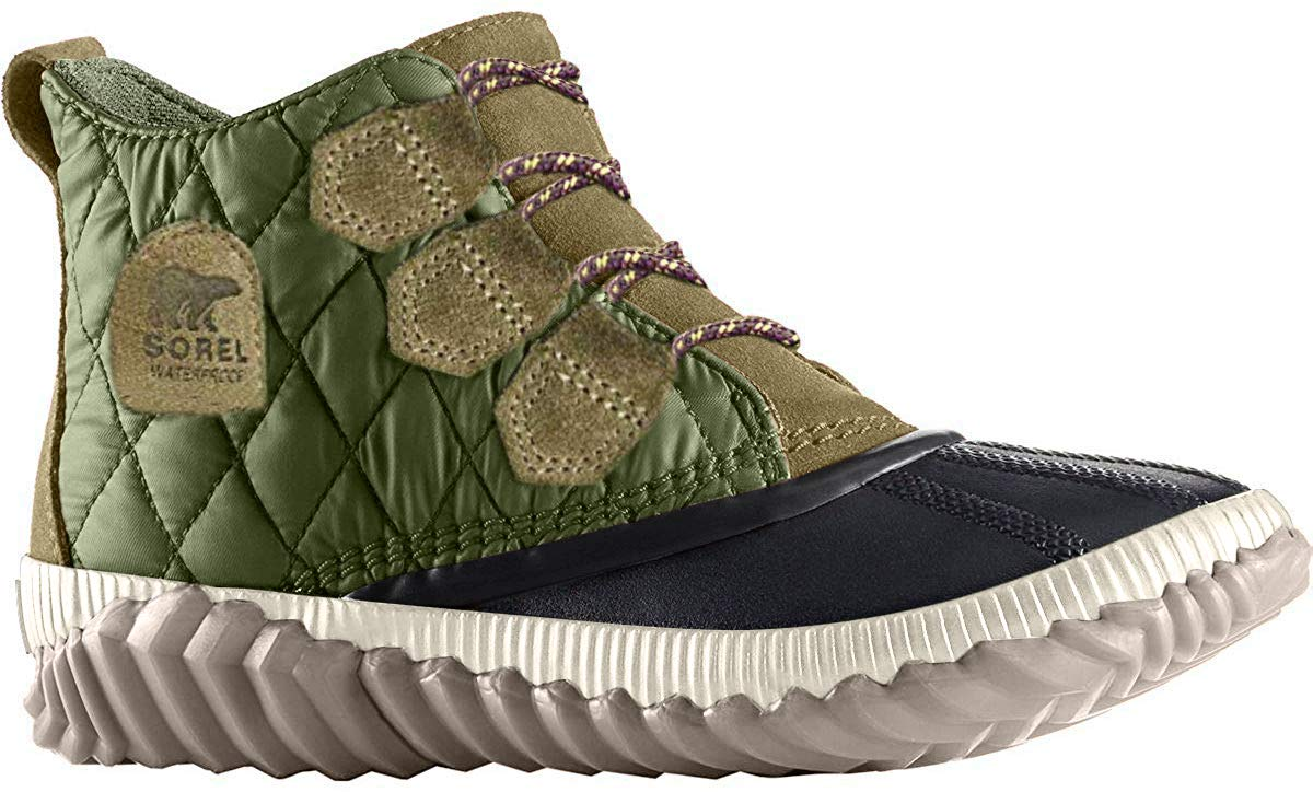 Sorel – Women's Out 'N About Plus, Waterproof Leather and Suede Duck Boot
