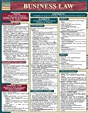 Business Law 2005 Update Laminate Reference Chart (Quick Study Business)