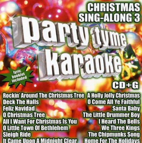 Christmas Karaoke Dvd - Party Tyme Karaoke - Christmas Sing-Along 3 (16-song CD+G)
