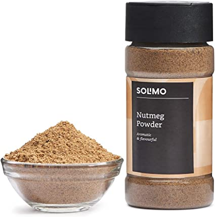 Amazon Brand - Solimo Nutmeg Powder, 50g