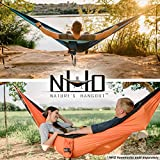 HangTight Hammock Straps - 10 Feet Long, Extra Strong & Lightweight, 2200 LBS Breaking Strength, No Stretch Polyester, 16 Adjustable Loops, Tree Friendly. Best Suspension System For Quick & Easy Setup