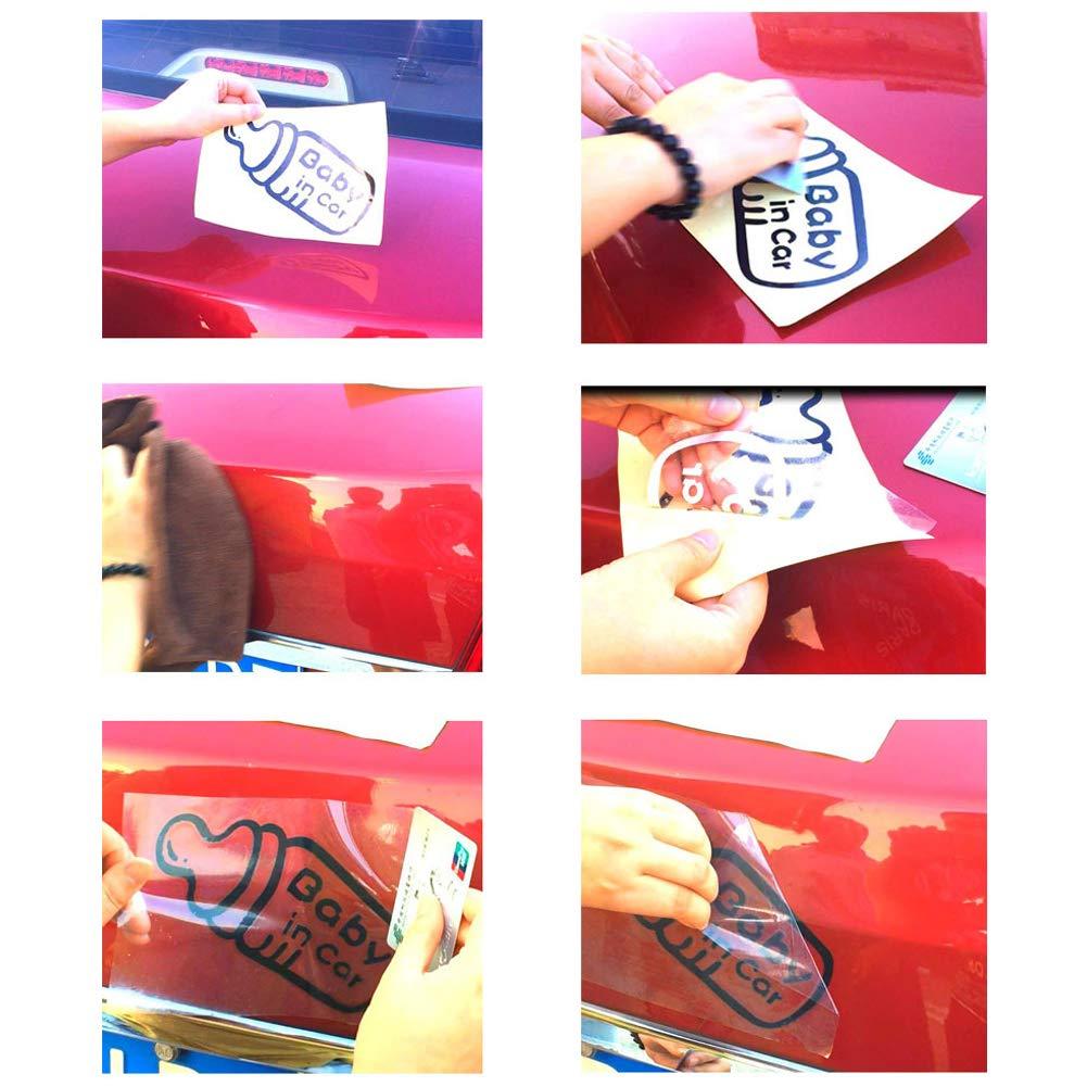SDGDFXCHN Etiqueta engomada a Cuadros del Coche de la Bandera de Carreras Etiqueta engomada de Parachoques Etiqueta engomada de la Tapa de la l/ámpara 11.4* 3.9