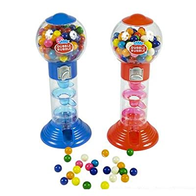 "10.5"" Spiral Fun Gumball Bank. One piece.: Jewelry"