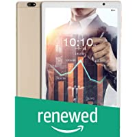 (Renewed) iBall iTAB BizniZ Tablet (10.1 inch, 32GB, Wi-Fi + 4G LTE + Voice Calling | Expandable Memory Up to 256GB), Champagne Gold