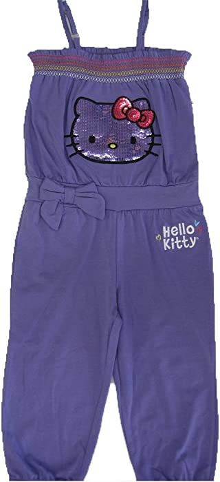 89580b2c6deb Amazon.com  Hello Kitty Little Girls Purple Elasticated Neck Strappy ...