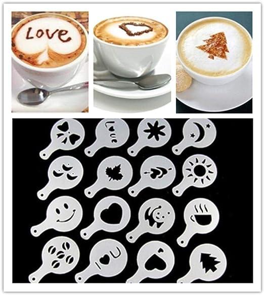 Dealsocean Café Panda Emoji Cappuccino Plantilla Strew Pad Cocoa ...