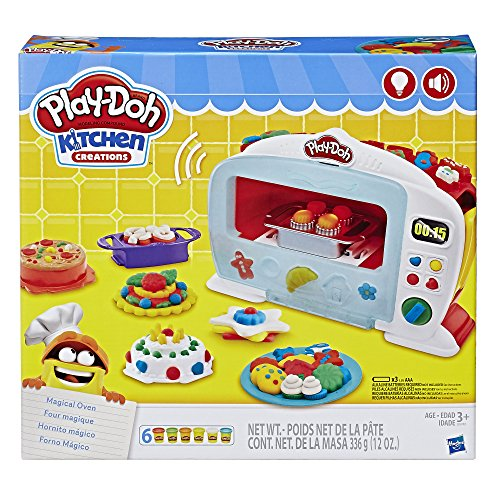 Play doh kitchen creations magical oven playset toys for Kitchen set toy kingdom