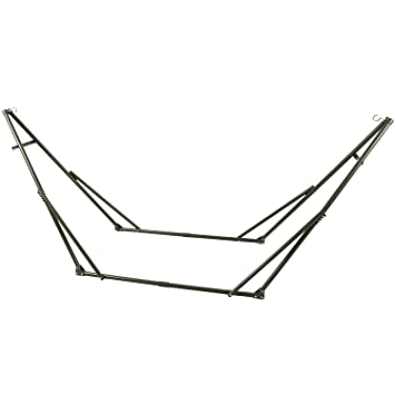 redcamp single or double hammock stand 10 foot portable with carrying case amazon    redcamp single or double hammock stand 10 foot      rh   amazon