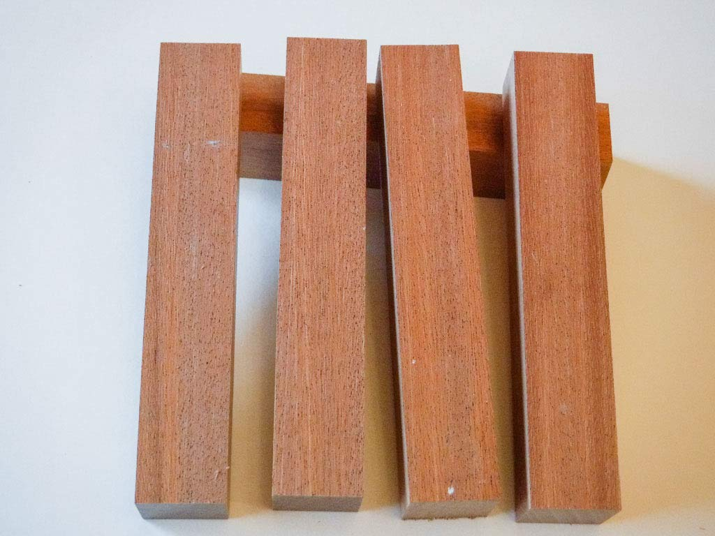 African Mahogany 7/8 Inch Pen Blanks - 5 Pack Shed Life PBW3018