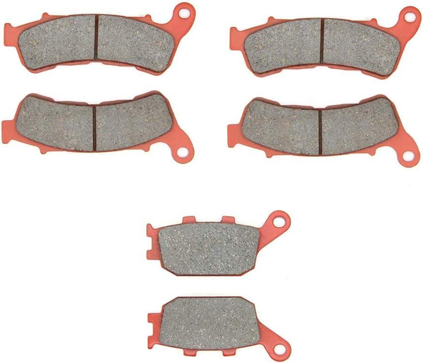 ABS 08-11 XL 700 VA 08-12 11-13 CBR 600 FA 07-13 ABS MEXITAL Bremsbel/äge Hinten f/ür CB600 FA Hornet ABS CBF600 SA8//SA9//SAA Transalp//3 piston front caliper//ABS