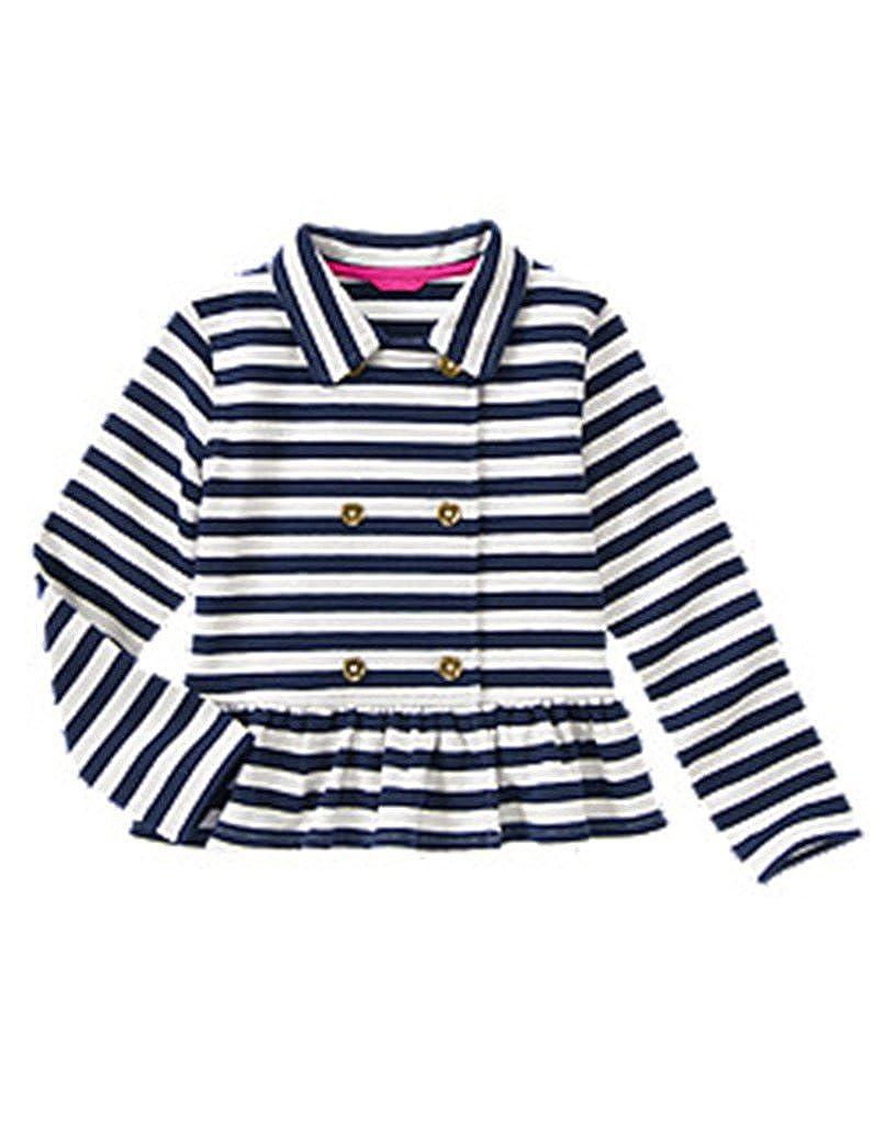 Gymboree Striped Peplum Jacket