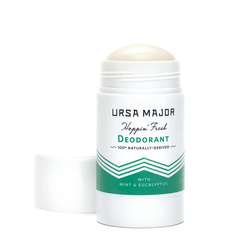 Ursa Major Natural Deodorant - Hoppin' Fresh | Aluminum-Free, Non-staining, Cruelty-Free | Formulated for Men and Women | 2.6 Ounces