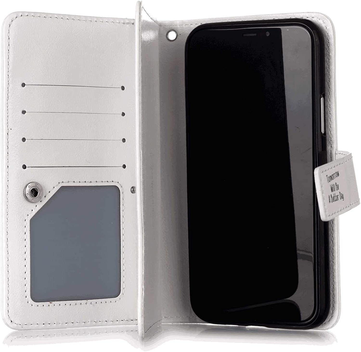 Cover for Leather Card Holders Wallet case Kickstand Extra-Shockproof Business Flip Cover Samsung Galaxy S9 Flip Case