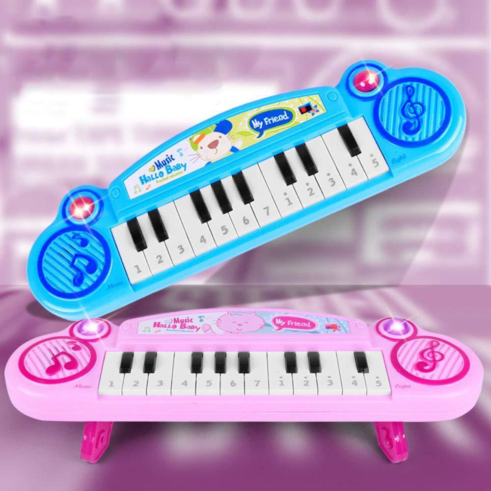 DYMAS Primera Infancia educación Dibujos Animados Teclado bebé música Piano Instrumento de percusión Juguetes Infantil: Amazon.es: Jardín