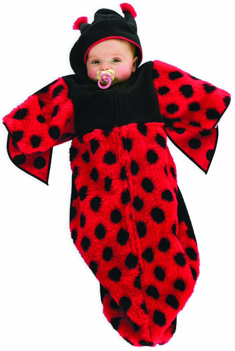 Stekarneval - Disfraz de mariquita para bebé niño, talla 0-18 ...