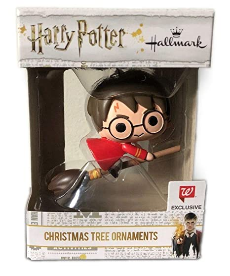 2018 Hallmark Harry Potter Christmas Tree Holiday Ornaments Exclusive - Amazon.com: 2018 Hallmark Harry Potter Christmas Tree Holiday