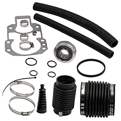 RPS Alpha One Gen 1 and 'pre-Alpha' Rebuilt kit (1972-1990) with Gimbal Bearing, Exhaust, u-Joint, Shift Bellows, Gasket, Water Hose. Replaces Mercury Mercruiser Marine 30-803097T1: Automotive