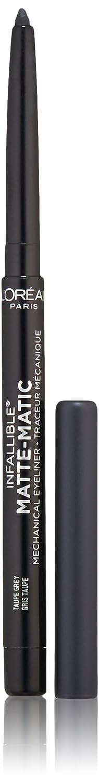 L'Oreal Paris Cosmetics Infallible Matte-Matic Liner, Charcoal, 0.01 Fluid Ounce L'Oreal Paris