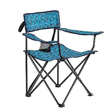 SMBYLL Silla Plegable para Exteriores Decathlon, Silla portátil para Barbacoa de Camping, Dos Colores Opcionales Silla Plegable (Color : B): Amazon.es: ...