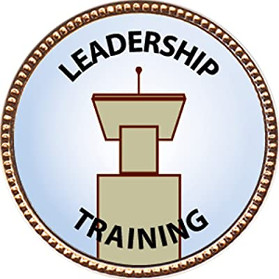Keepsake Awards Leadership Training Award, 1 inch Dia Gold Pin Special Knowledge Collection: Toys & Games