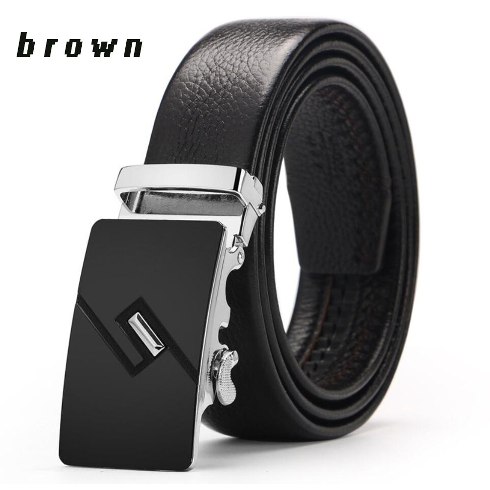 XUEXUE Mens Belt,Automatic Buckle,Adjustable Work Active Basic Leather,Party Business Soft Casual Formal Belts,Great for Jeans /& Casual Wear /& Cowboy Wear /& Work Clothes Uniforms