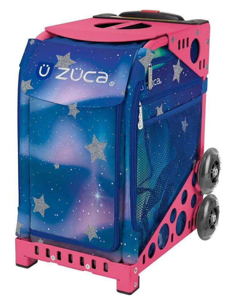 ZUCA Aurora Sport Insert Bag and Pink Frame with Flashing Wheels