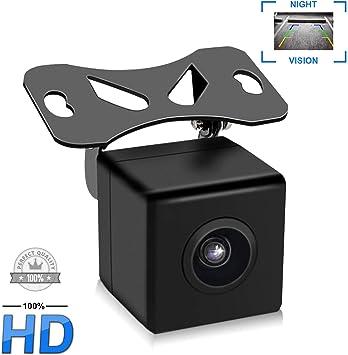 Cam/éra de recul avec Angle de Vision Nocturne HD 170 /° avec Ligne de r/éf/érence IP67 /étanche AV+DC