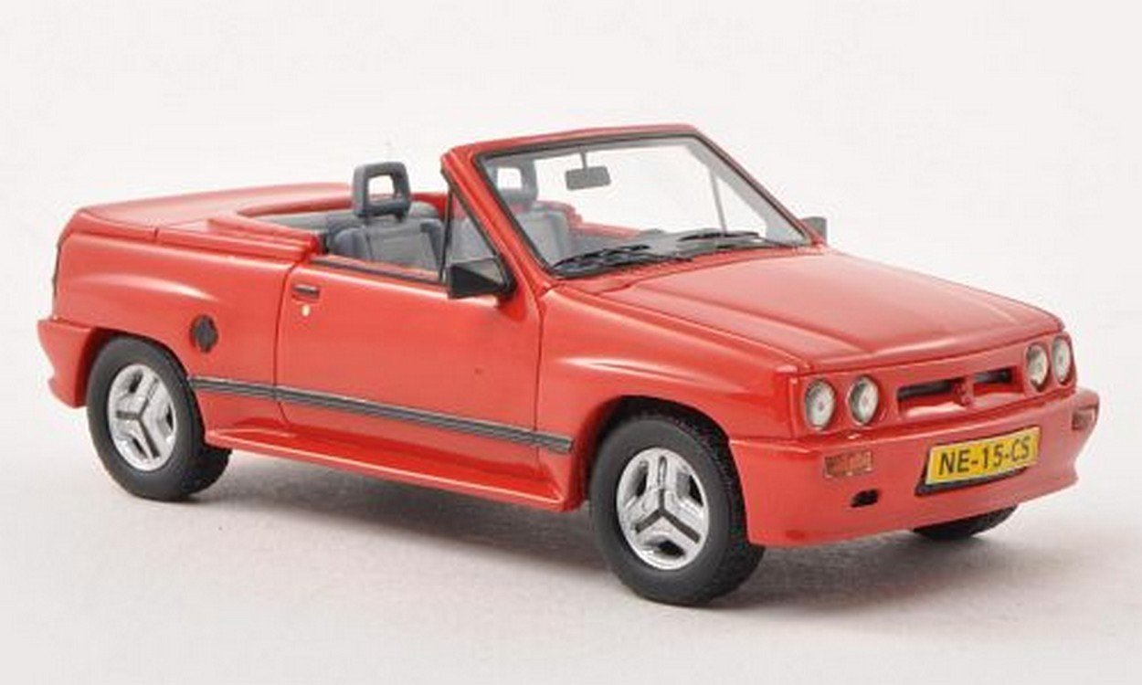 NEO+ Scale Models NEO45915 Opel Corsa Spider IRMSCHER i 120 1985 Red 1:43 Model