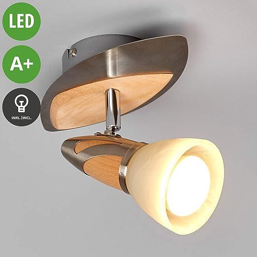 LED Lámpara de techo Marena (Tradicional) en Marrón hecho ...