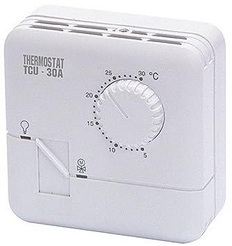 "McVoice termostato McVoice ""TCU-30A"", analógico temperatura 5 °C hasta"