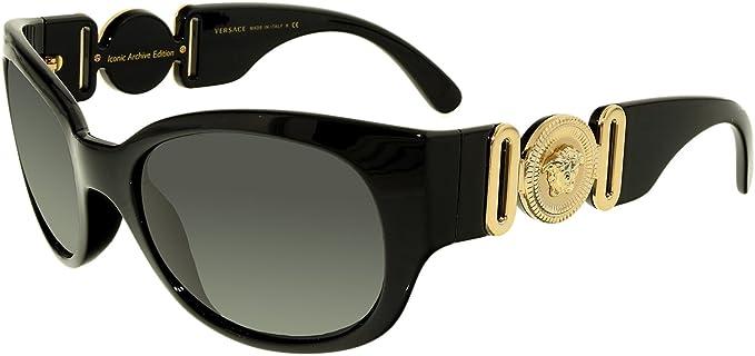 4b9de911e1a Versace Women s VE4265-GB1 87-57 Black Butterfly Sunglasses  Versace ...