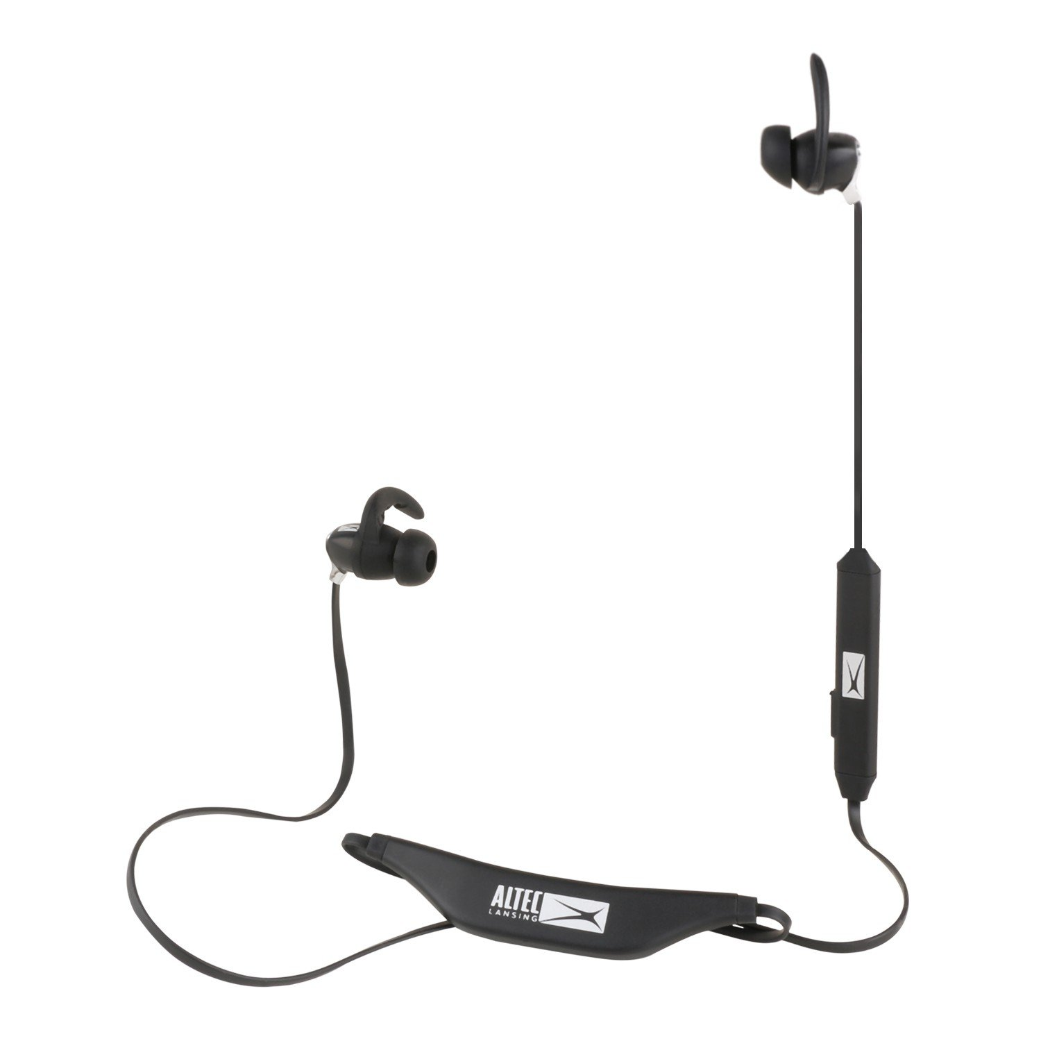 Amazon Altec Lansing MZW100 BLK BT In Ear Sport Ear Buds Black Cell Phones & Accessories