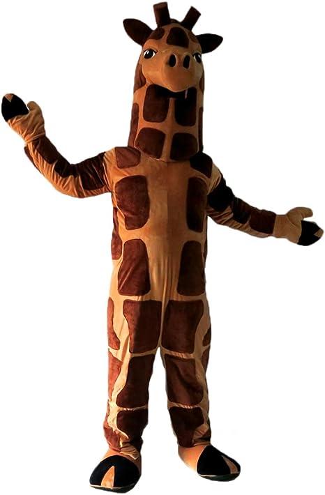 Disfraz de jirafa cartoon Mascot Real imagen 15 – 20days entrega ...
