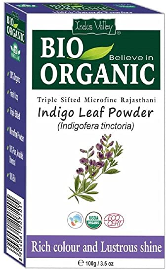 Indigo Puder für Haar Ist Eine reine Bio natürliche pflanzliche ...