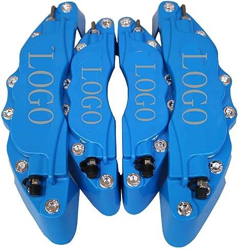 KQZLLL Copri Pinza Freno Anteriore 3D 4PCS Anteriore e Posteriore per la Fie Sta 2011-2012