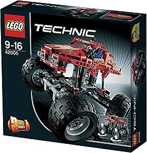 lego technique monster truck 42005 japan. Black Bedroom Furniture Sets. Home Design Ideas