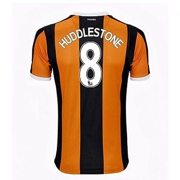 2016-17 Hull City Home Shirt (Huddlestone 8)  Amazon.co.uk  Sports    Outdoors 5b484c882