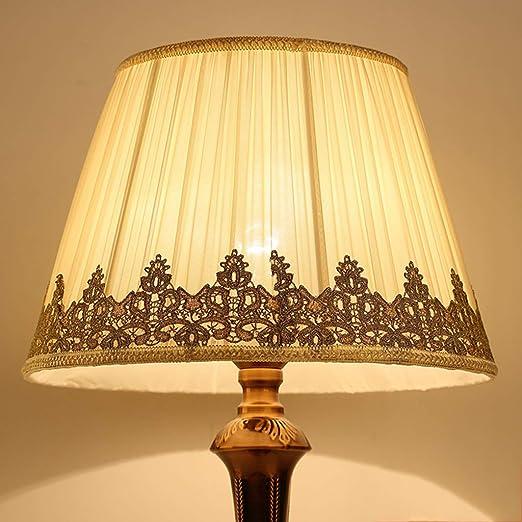 ZQH Algodón Sombra Clara, Moderno Plisado Pantallas de lámparas ...