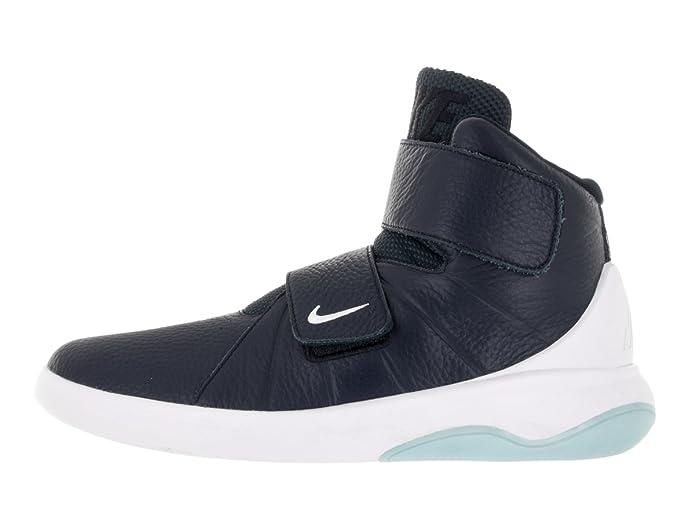 Amazon.com   NIKE Men's Marxman Obsidian/Obsidian/White/Ice Basketball Shoe  7.5 Men US   Basketball