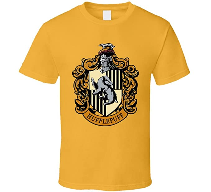 6a2afe29 Harry Potter Hufflepuff Crest T Shirt   Amazon.com