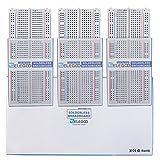ELEGOO 3PCS 400 tie-Points breadboard, 4 Power