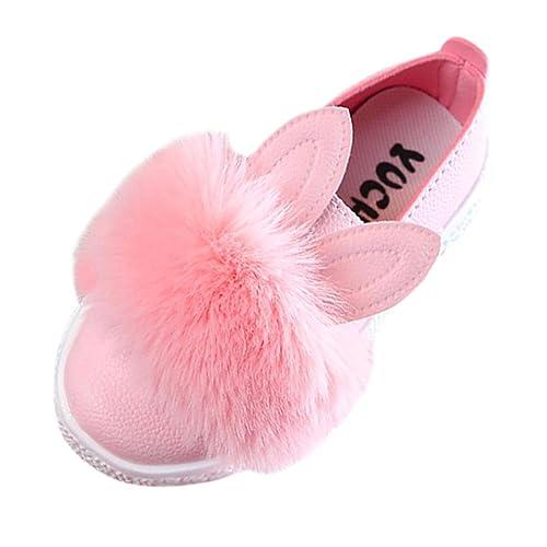 nueva especiales tiendas populares descuento especial de Fossen Niña Zapatos de Oreja de Conejo del Pelusa de Vestir ...