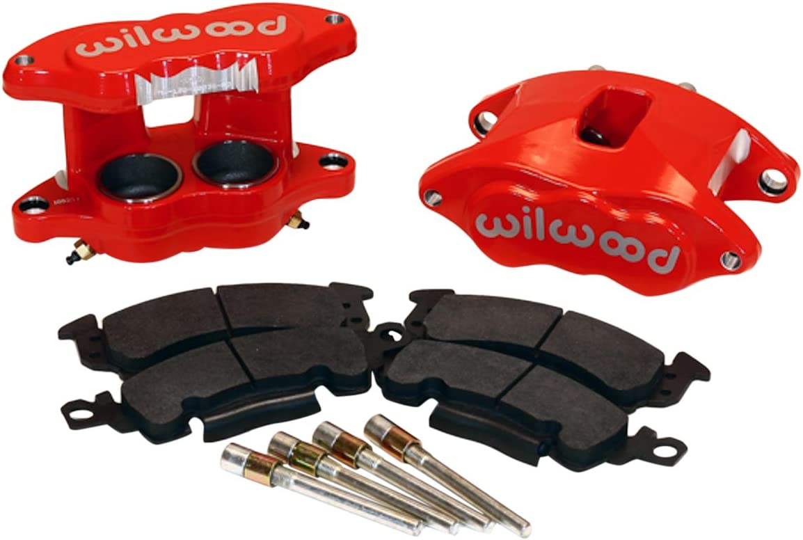 Clear Front Bigg Red HEL Braided Compatible with Brembo Caliper Link Pipe