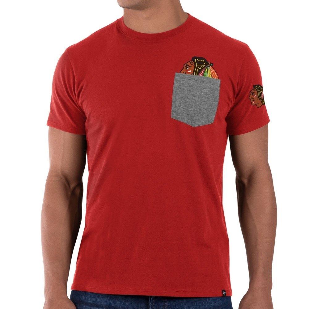 '47 Brand Chicago Blackhawks Sneak Tip NHL T-Shirt Red
