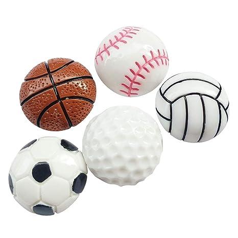 Amazon.com: Chenkou Craft 20 piezas tenis baloncesto fútbol ...