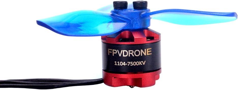80Mm Fpv Drone Frame Micro Fibra De Carbono Suporte 1104 1106 Brushless Motors De Corrida